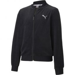 Puma Alpha Velvet Full Zip Track Top Børn