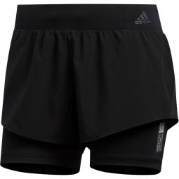 adidas Adapt 2in1 Løbeshorts Dame