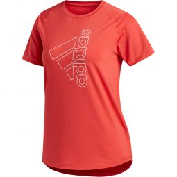 adidas Tech Badge Of Sport Trænings T-shirt Dame