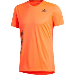 adidas Run It 3-Stripes PB Løbe T-shirt Herre