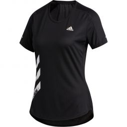 adidas Run It 3S Løbe T-shirt Dame
