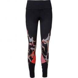 Under Armour Rush Print Color Block Træningstights Dame