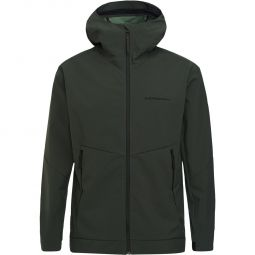 Peak Performance Adventure Hooded Softshell Jakke Herre