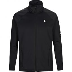 Peak Performance Ride Full Zip Track Top Herre