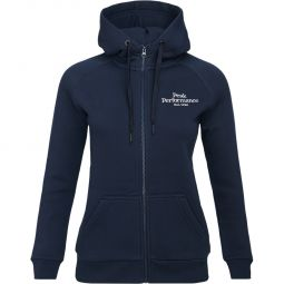 Peak Performance Original Full Zip Hættetrøje Dame