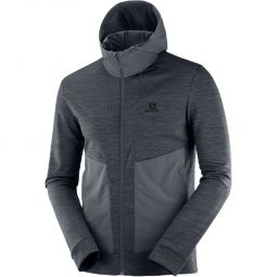 Salomon Outline Mid Full Zip Jakke Herre