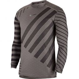 Nike Tech Knit Cool Langærmet Løbe T-shirt Herre