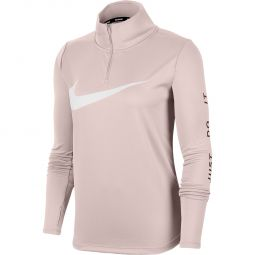 Nike Just Do It Half Zip Løbetrøje Dame