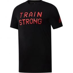Reebok Graphic Series Train Strong T-shirt Herre