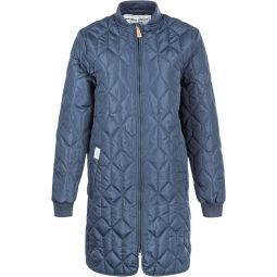 Weather Report Amalia Long Quilted Termojakke Dame