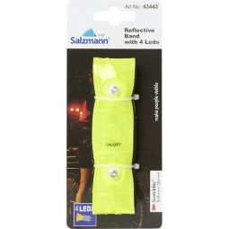 Salzmann Reflective Band 4 LEDs