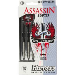 Harrows Assassin 85% Tungsten Softip Darts