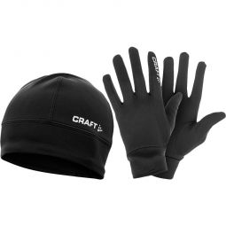 Craft Run Winter Pack Hue/Handske Sæt
