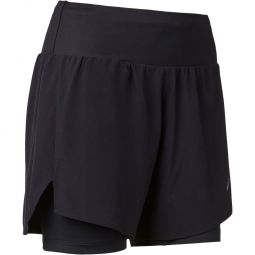 "Asics Road 2in1 5"" Løbeshorts Dame"
