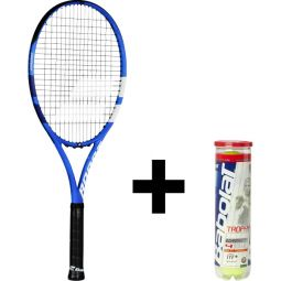 Babolat Boost Drive Tennisketcher + Bolde