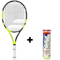 Babolat  Aero 25 Tennisketcher + Bolde